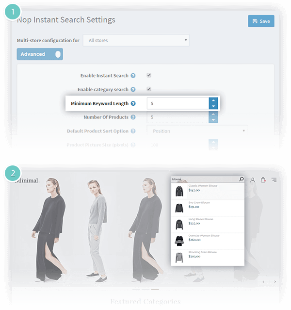 Nop Instant Search - Nop-Templates