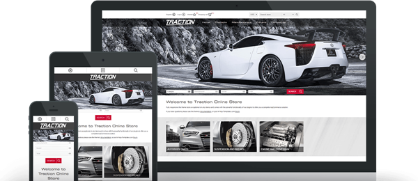 Picture of Nop Traction Responsive Theme