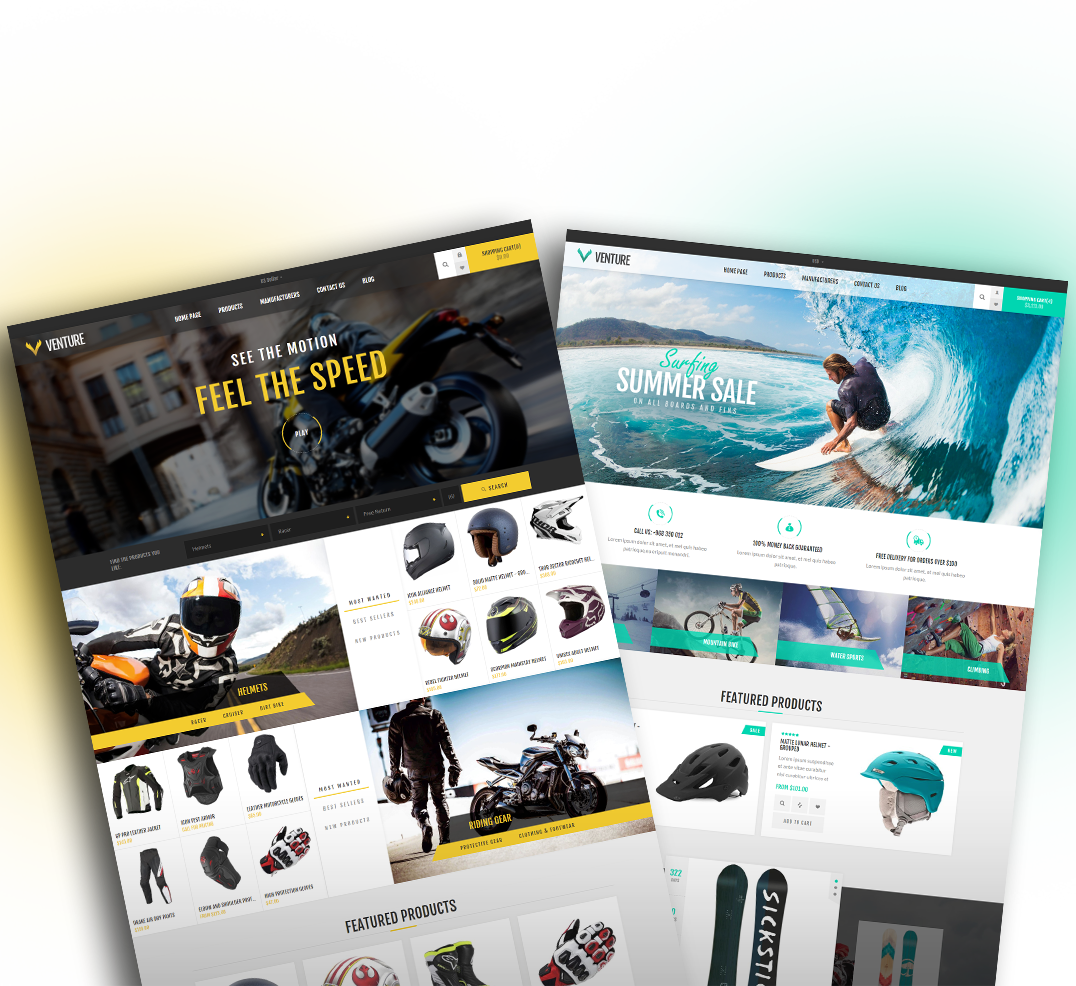 Venture for Nop commerce templates