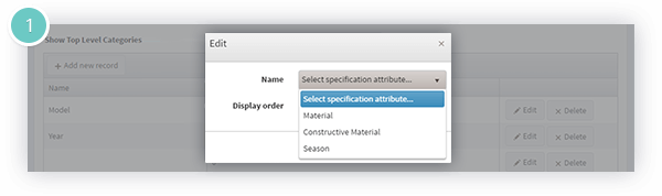 Ajax Filters Pro Plugin Features - specification attributes