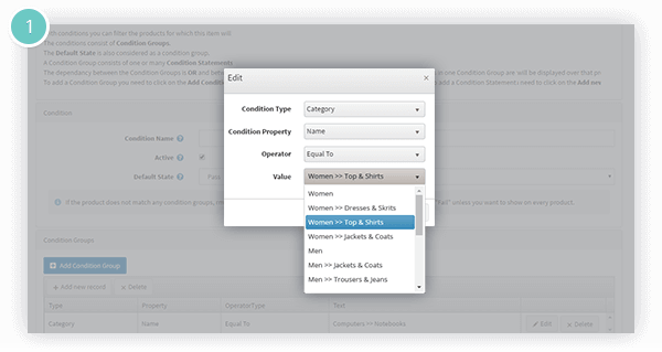Anywhere Sliders Plugin Features - show a slider for a category, manufacturer or based on condition