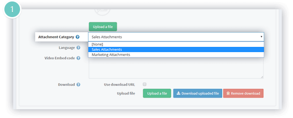 Attachments Plugin Features - group attachments into categories