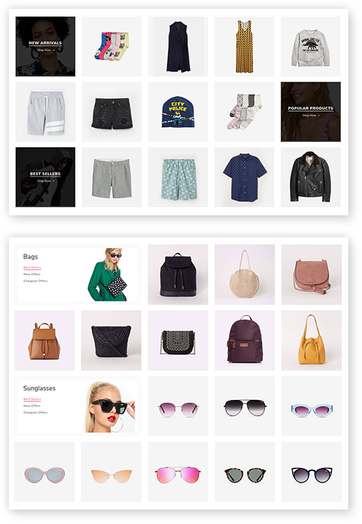 Smart Product Collections plugin is included in the Avenue Theme