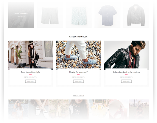 Rich blog plugin is included in the Avenue Theme