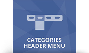 categories header menu plugin