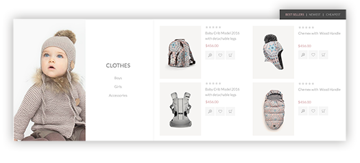 Poppy Theme Features - Smart Product Collections plugin included