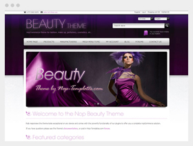 beauty theme