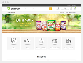 Emporium theme for nopCommerce