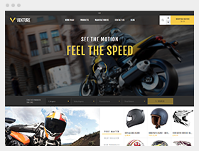 Venture theme for nopCommerce