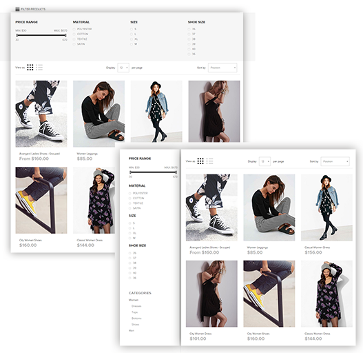 catalog pages layout