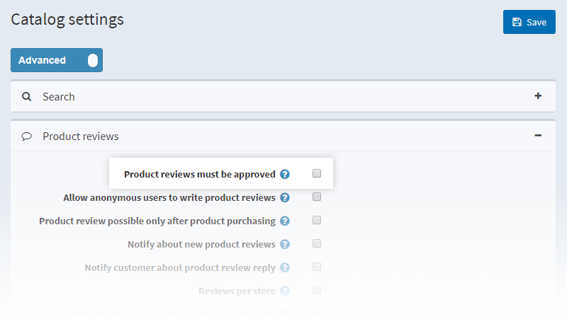 Approving Product Reviews in NopCommerce