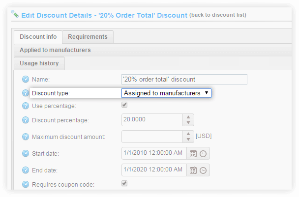 Enhanced Discount Support 1
