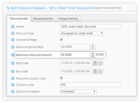 Enhanced Discount Support 4