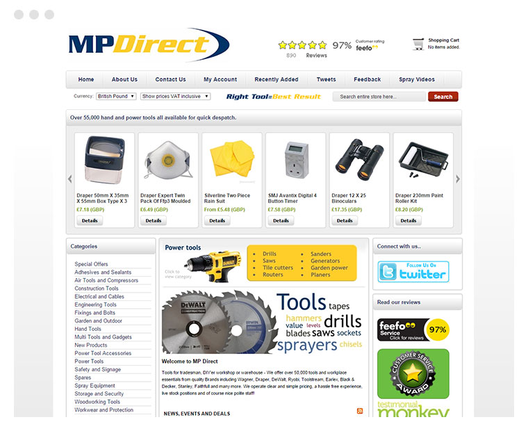 Clients - mpdirect