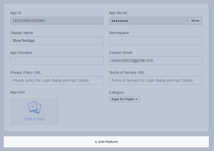 Facebook Shop Documentation