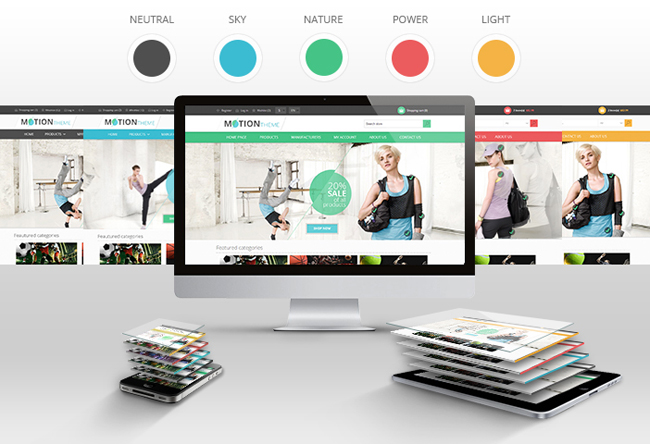 nop commerce templates - introducing the nop motion theme for nopcommerce