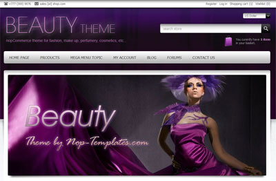 Nop Beauty Theme