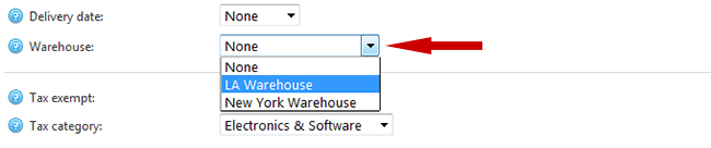 Assign a nopCommerce product to a 