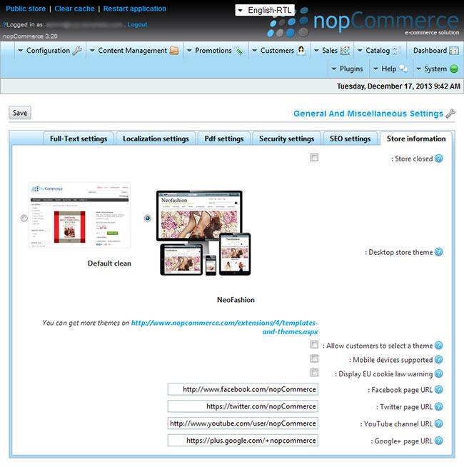 nop commerce templates - nopcommerce 3 2 bany