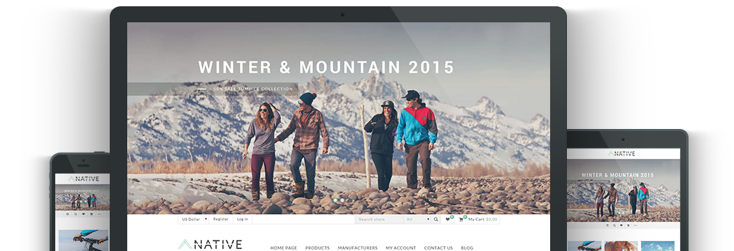 Nop Native Responsive Theme