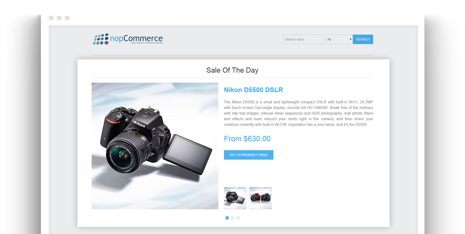 NopCommerce Sale of the Day Plugin | Ecommerce Extensions