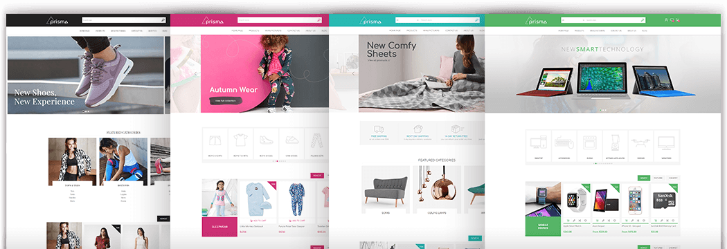 Prisma for Nop commerce templates