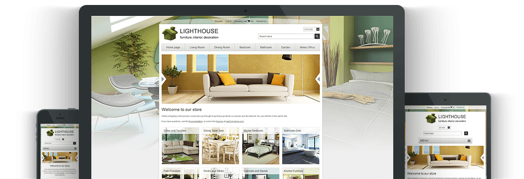 Nop Lighthouse Responsive Theme
