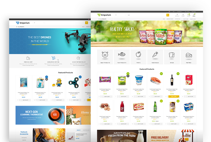 premium and free nopcommerce themes templates extensions and plugins