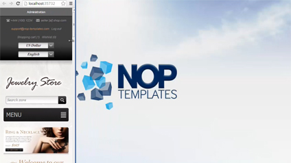 Picture of How to update a Nop-Templates.com Theme