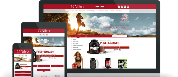 Preview of Nitro Theme for nopCommerce