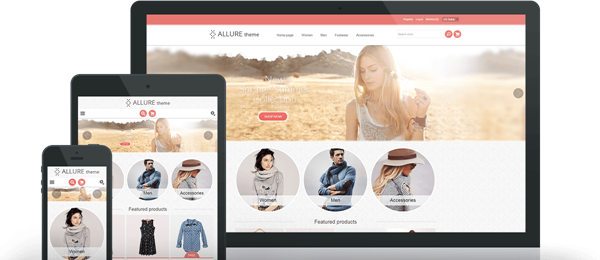 Preview of Allure Theme for nopCommerce