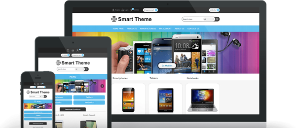 Preview of Smart Theme for nopCommerce