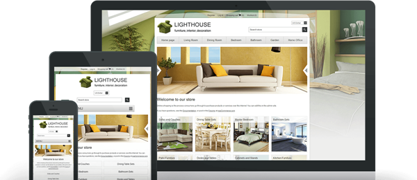 Preview of Lighthouse Theme for nopCommerce