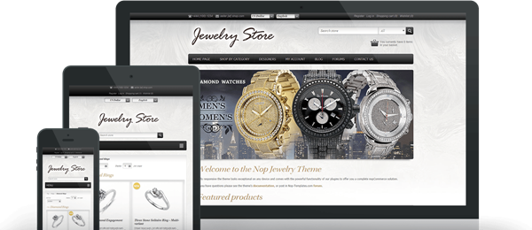 Preview of Jewelry Theme for nopCommerce
