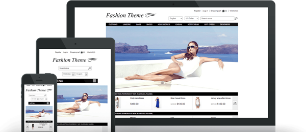 Preview of Fashion Theme for nopCommerce