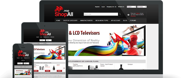 Preview of ShopAll Theme for nopCommerce