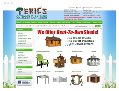 Eric's Outdoor Furniture