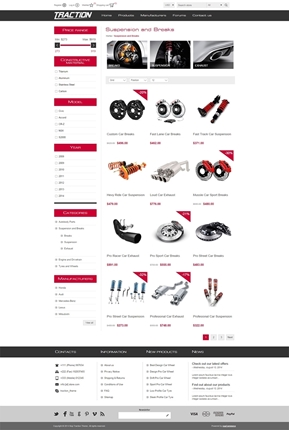 Traction Theme - Category Page