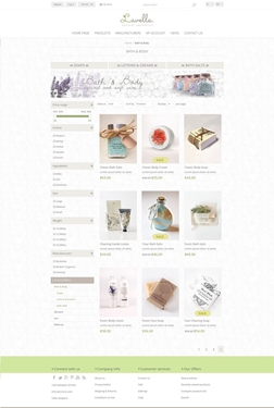 Lavella Theme - Category Page