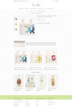 Lavella Theme - Product Page
