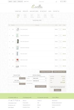 Lavella Theme - Checkout Page