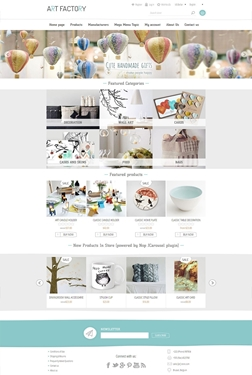 Picture of Nop ArtFactory Responsive Theme