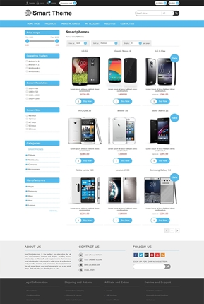 Smart Theme - Category Page