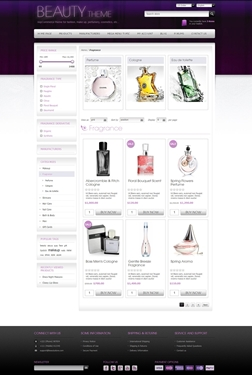 Beauty Theme - Category Page