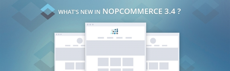 What's new in nopCommerce 3.4