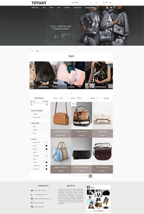Tiffany Theme - Category Page