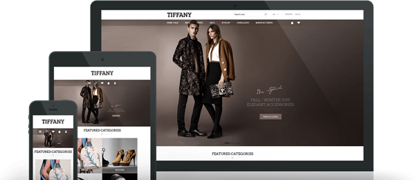 Preview of Tiffany Theme for nopCommerce