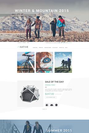 Native Theme - Home Page
