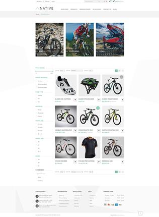 Native Theme - Category Page