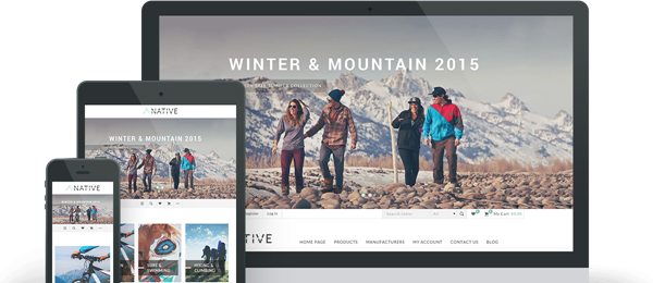 Picture of Nop Native Responsive Theme